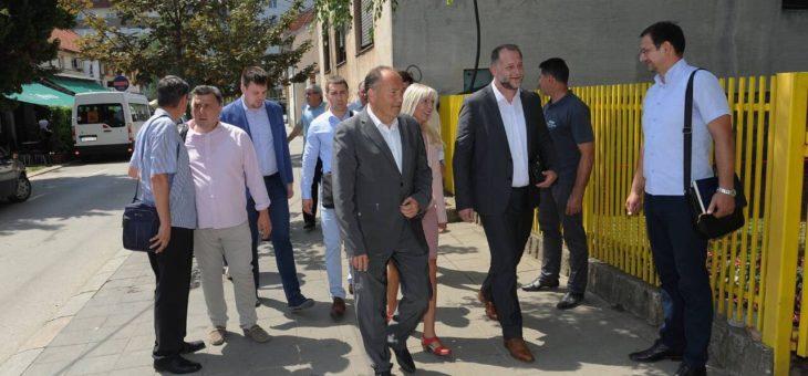 Ministar Mladen Šarčević najavio unapređenje predškolskog i školskog obrazovanja u Valjevu